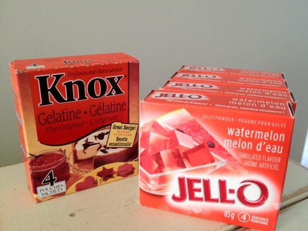 4 Jellos & Knorr photo