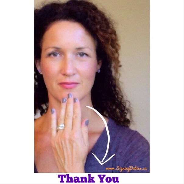 How to Sign THANK YOU in American Sign Language  www.growingsigns.com