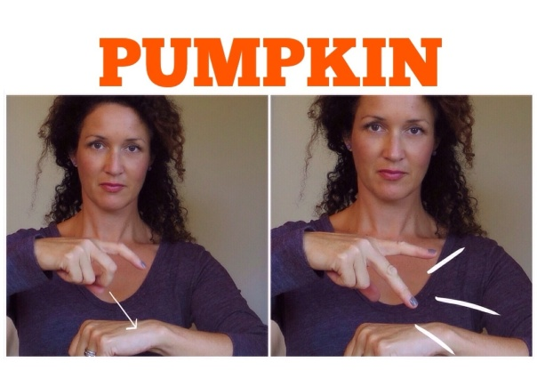 How to Sign PUMPKIN in ASL  www.signingbabies.ca