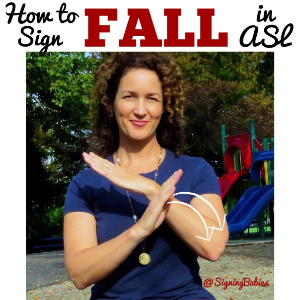 How to Sign FALL in ASL  www.growingsigns.com