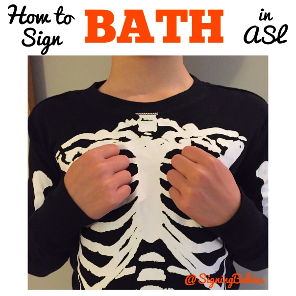 How to Sign BATH in ASL www.growingsigns.com