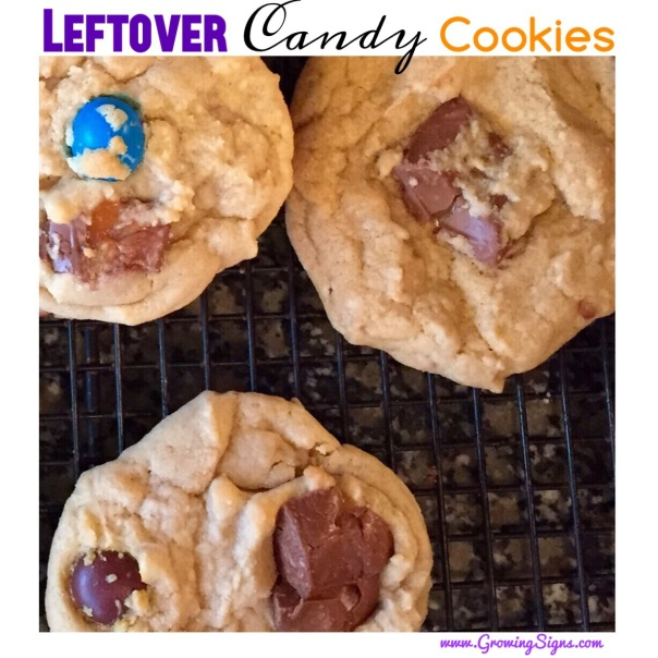 Leftover Candy Cookies by growingsigns.com