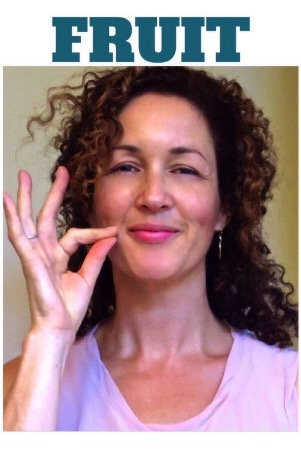 How to sign FRUIT ins ASL www.growingsigns.com